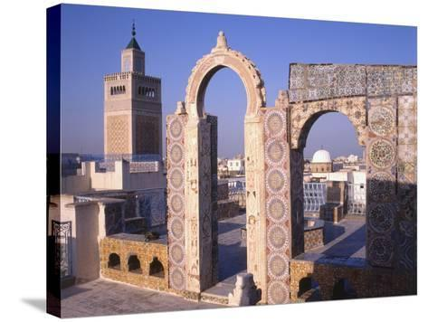 View of Tunis from the Palais D'Orient--Stretched Canvas Print