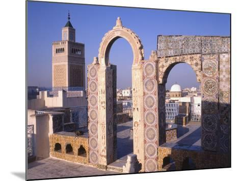 View of Tunis from the Palais D'Orient--Mounted Photographic Print