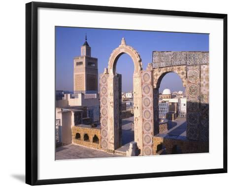 View of Tunis from the Palais D'Orient--Framed Art Print