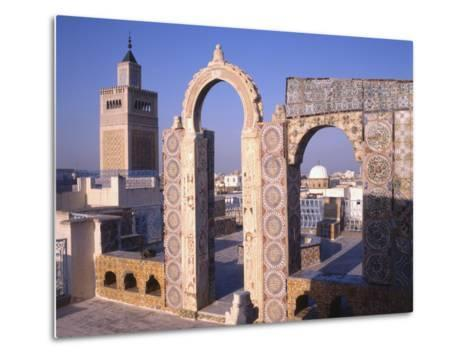 View of Tunis from the Palais D'Orient--Metal Print