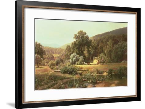 Summer in the Blue Ridge, 1874-Hugh Bolton Jones-Framed Art Print