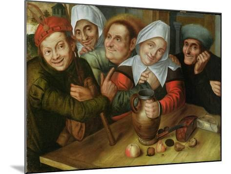 A Merry Company, C.1557-Jan Massys or Metsys-Mounted Giclee Print