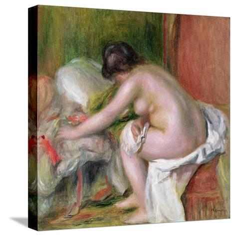 Seated Bather, 1898-Pierre-Auguste Renoir-Stretched Canvas Print