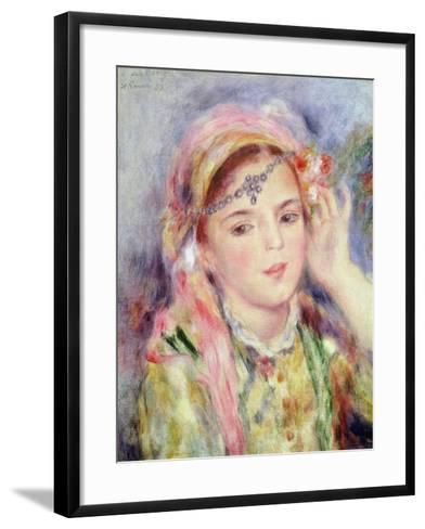 L'Algerienne, 1883-Pierre-Auguste Renoir-Framed Art Print