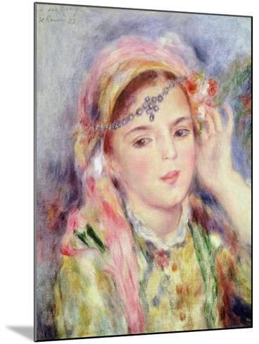 L'Algerienne, 1883-Pierre-Auguste Renoir-Mounted Giclee Print