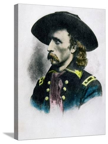 George Armstrong Custer--Stretched Canvas Print