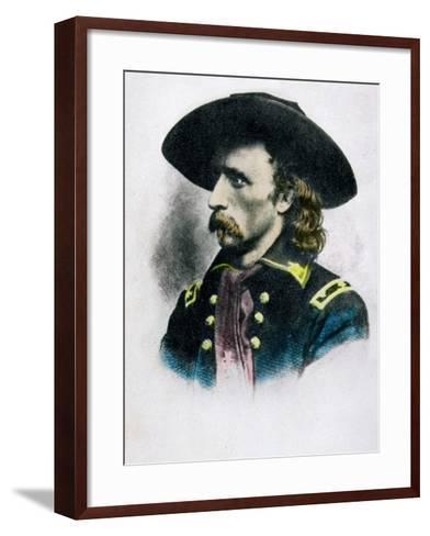 George Armstrong Custer--Framed Art Print
