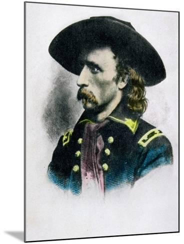 George Armstrong Custer--Mounted Giclee Print