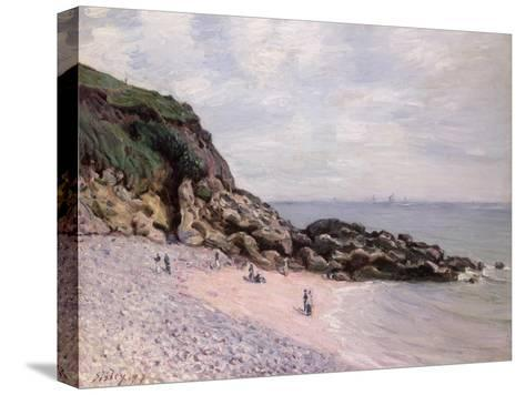 Langland Bay, 1897-Alfred Sisley-Stretched Canvas Print