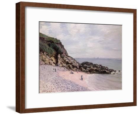 Langland Bay, 1897-Alfred Sisley-Framed Art Print