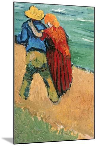 A Pair of Lovers, Arles, 1888-Vincent van Gogh-Mounted Giclee Print