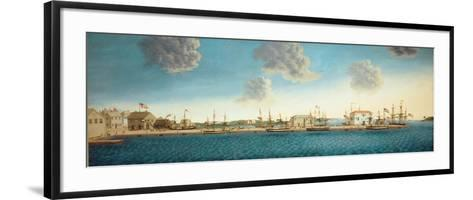 Crowninshield's Wharf, 1806-George Ropes-Framed Art Print