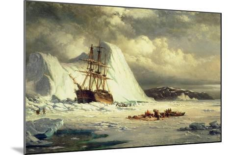Icebound Ship, C.1880-William Bradford-Mounted Giclee Print