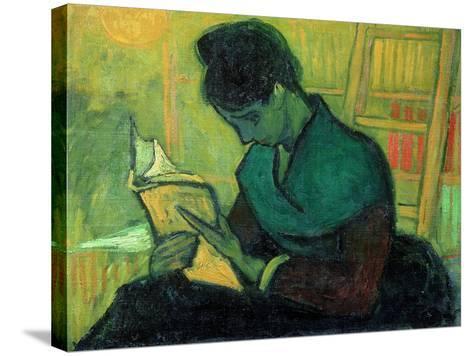 The Novel Reader, 1888-Vincent van Gogh-Stretched Canvas Print