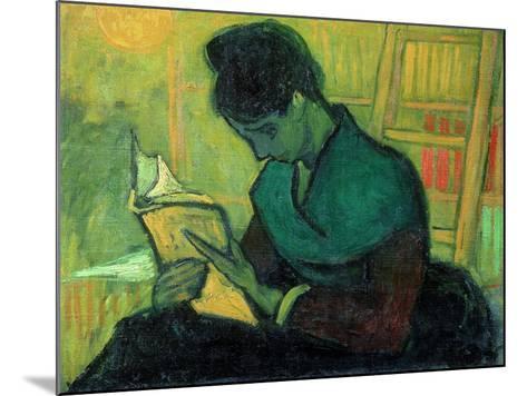 The Novel Reader, 1888-Vincent van Gogh-Mounted Giclee Print