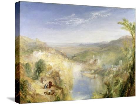 Modern Italy - the Pifferari, 1838-J^ M^ W^ Turner-Stretched Canvas Print