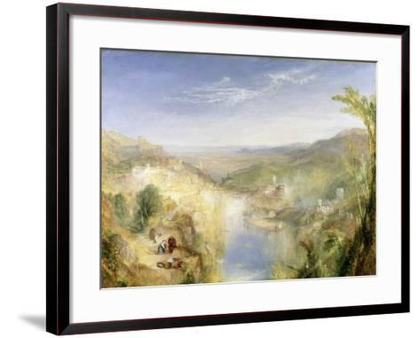 Modern Italy - the Pifferari, 1838-J^ M^ W^ Turner-Framed Art Print