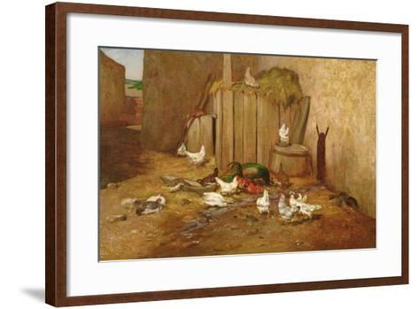 The Farmyard-Philibert-Leon Couturier-Framed Art Print