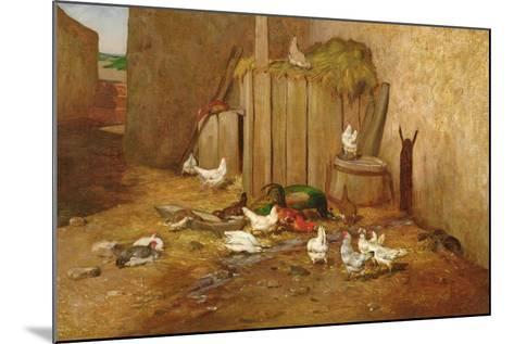 The Farmyard-Philibert-Leon Couturier-Mounted Giclee Print