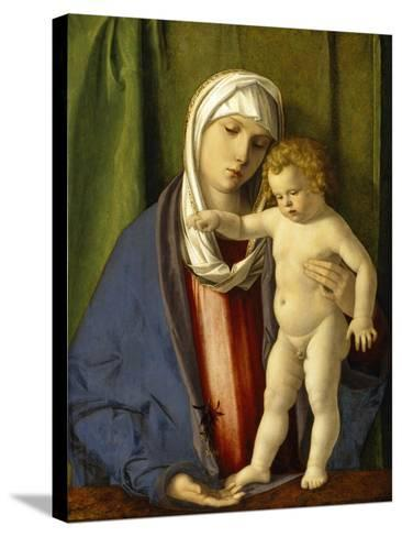 Virgin and Child, C.1488-90-Giovanni Bellini-Stretched Canvas Print