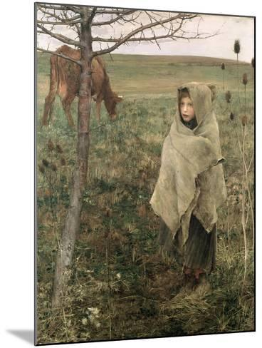 Poor Fauvette, 1881-Jules Bastien-Lepage-Mounted Giclee Print