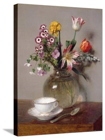 Spring Bouquet, 1865-Henri Fantin-Latour-Stretched Canvas Print