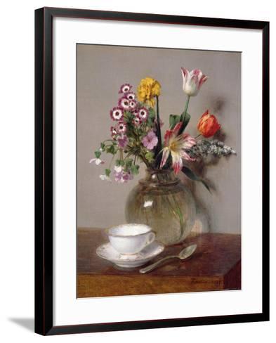 Spring Bouquet, 1865-Henri Fantin-Latour-Framed Art Print