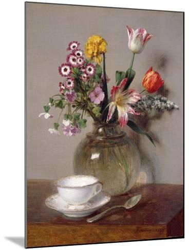 Spring Bouquet, 1865-Henri Fantin-Latour-Mounted Giclee Print