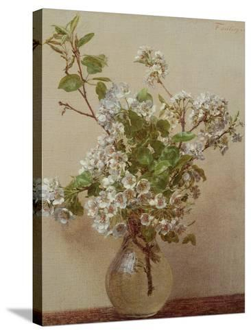 Pear Blossom, 1882-Henri Fantin-Latour-Stretched Canvas Print