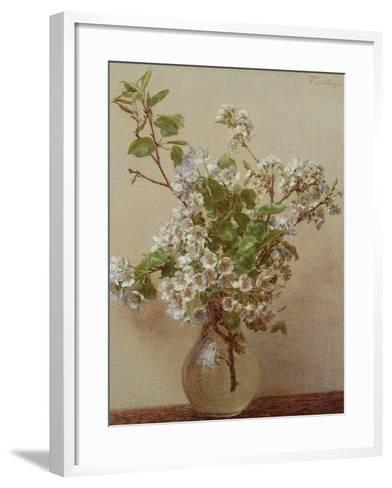 Pear Blossom, 1882-Henri Fantin-Latour-Framed Art Print