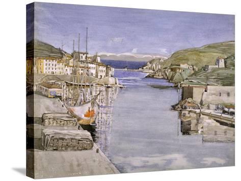 A Southern Port-Charles Rennie Mackintosh-Stretched Canvas Print