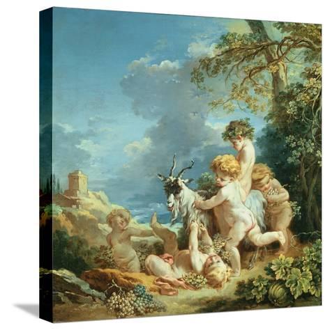 Autumn, 1731-Francois Boucher-Stretched Canvas Print