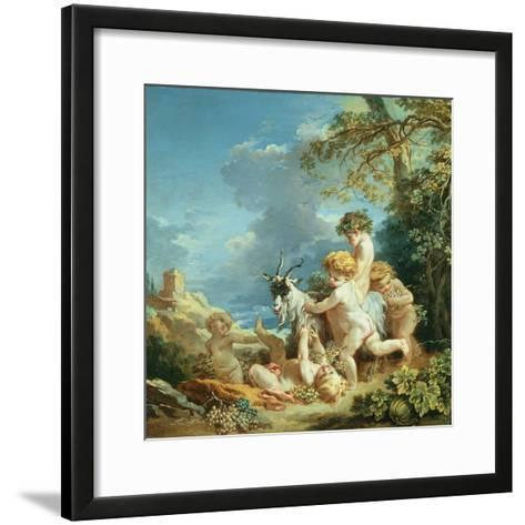 Autumn, 1731-Francois Boucher-Framed Art Print