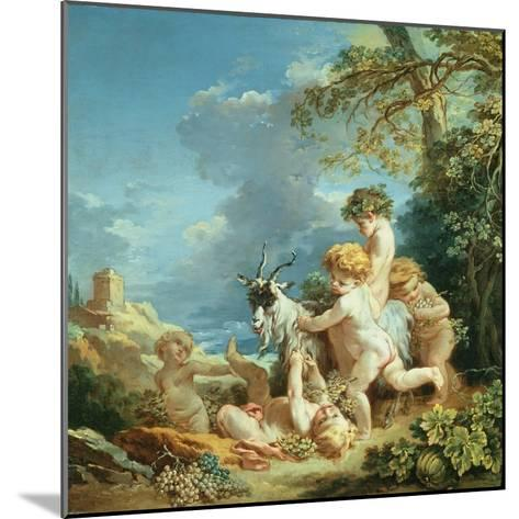 Autumn, 1731-Francois Boucher-Mounted Giclee Print