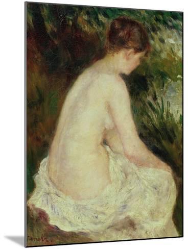 Bather, 1879-Pierre-Auguste Renoir-Mounted Giclee Print