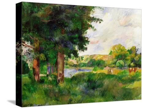 Landscape-Paul C?zanne-Stretched Canvas Print