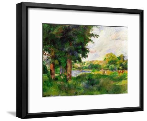 Landscape-Paul C?zanne-Framed Art Print