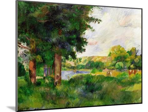 Landscape-Paul C?zanne-Mounted Giclee Print