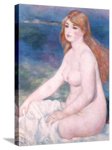 Bather (Blonde Bather II) 1882-Pierre-Auguste Renoir-Stretched Canvas Print