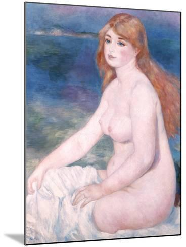 Bather (Blonde Bather II) 1882-Pierre-Auguste Renoir-Mounted Giclee Print