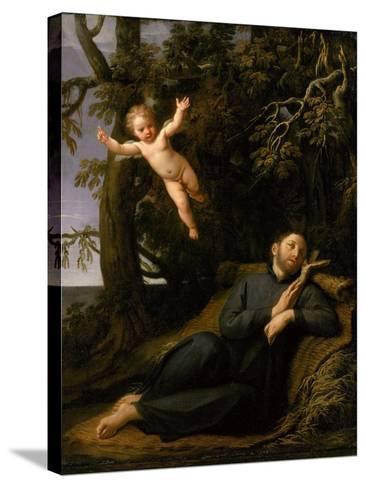 St. Francis De Sales (1567-1622) in the Desert, C.1700-10-Marco Antonio Franceschini-Stretched Canvas Print