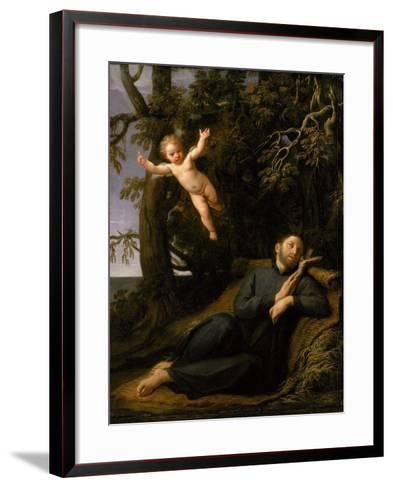 St. Francis De Sales (1567-1622) in the Desert, C.1700-10-Marco Antonio Franceschini-Framed Art Print