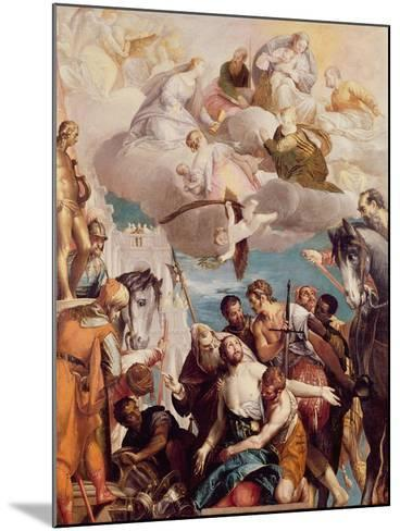 The Martyrdom of St. George-Paolo Veronese-Mounted Giclee Print