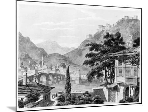Town of Berat in Early 19th Century, from 'travels in Sicily, Greece and Albania' by Thomas Smart…-Charles Robert Cockerell-Mounted Giclee Print