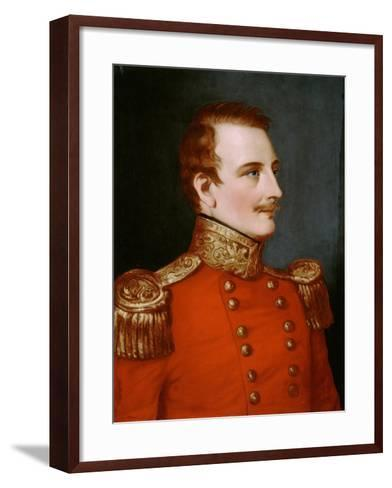 Major Henry Walter Bellew (1802-1842) C.1841--Framed Art Print