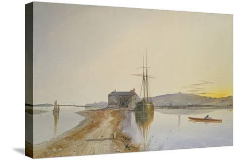 Turf on the Exe-George Whitaker-Stretched Canvas Print