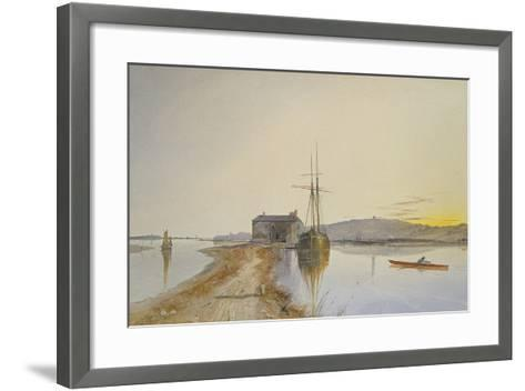 Turf on the Exe-George Whitaker-Framed Art Print