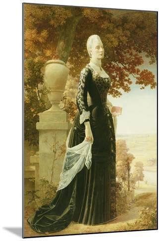 The Artists Wife-Robert Bateman-Mounted Giclee Print