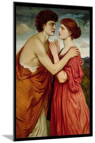 Isaac and Rebecca-Simeon Solomon-Mounted Giclee Print
