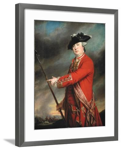 Lieutenant Colonel Francis Smith (1723-91) 1764-Francis Cotes-Framed Art Print